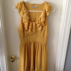 Dresses & Skirts - SOLD Gorgeous golden yellow cocktail dress