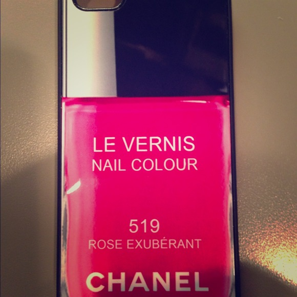 Accessories | Iphone 5 Chanel Nail Polish Case | Poshmark