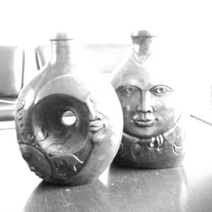 Other - Hold Decorative Clay Pottery Set