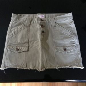 Joie denim skirt size 4
