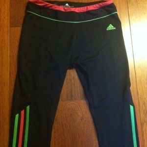 New Adidas workout capris