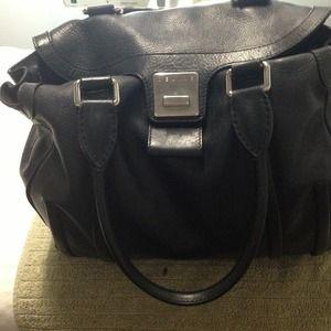Black Celine purse