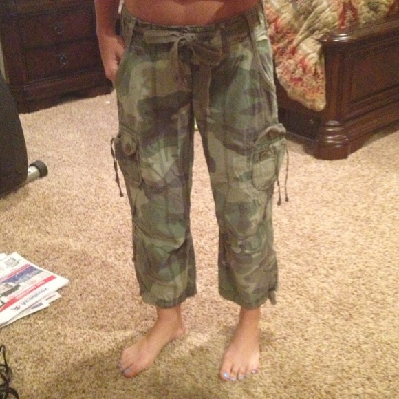 78% off Abercrombie & Fitch Pants - 💥REDUCED💥Abercrombie Camo ...