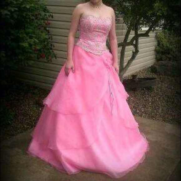 Dresses | Beautiful Pink Prom Dress For A Small Busty Girl | Poshmark