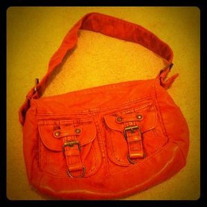 Handbags - Vintage style orange purse