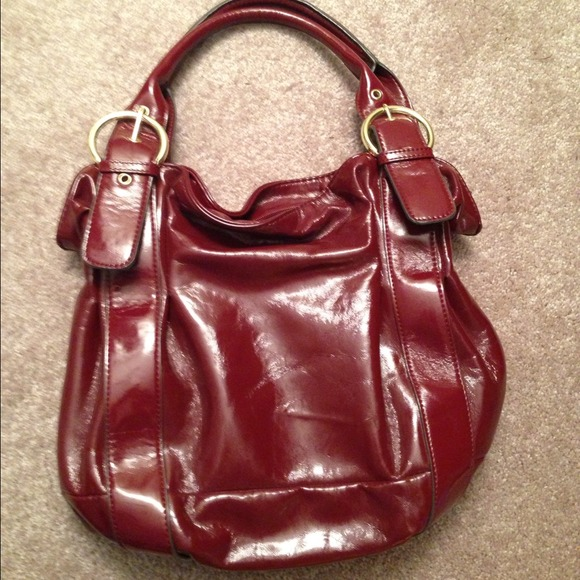 Mondani - Deep Red Mondani Handbag from Tiffany's closet on Poshmark