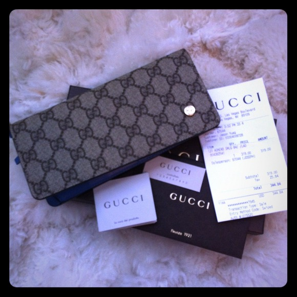 647f53dd295948 Gucci Bags | Authentic With Receipt Long Wallet | Poshmark