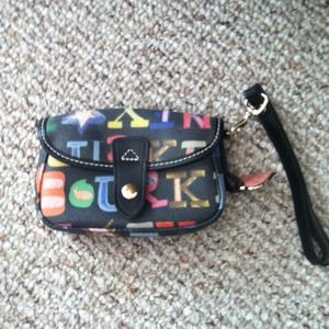 Authentic Dooney & Bourke clutch