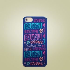 NEW Authentic Coach iPhone 5 Case