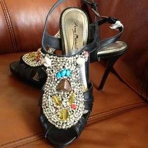 Sparkling heels!