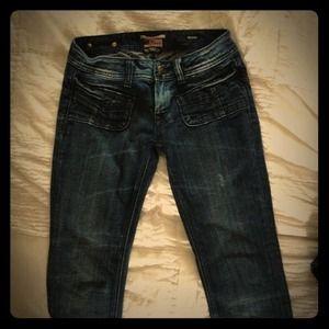 """""""Rerock""""  Express skinny jeans!"""