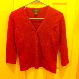 Eddie Bauer Sweaters - Button-down sweater