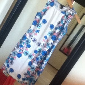 H&M fitted floral dress WORN ONCE