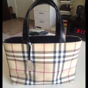Burberry Bags - Burberry Nova Check Small Tote 7c3f4ca173624