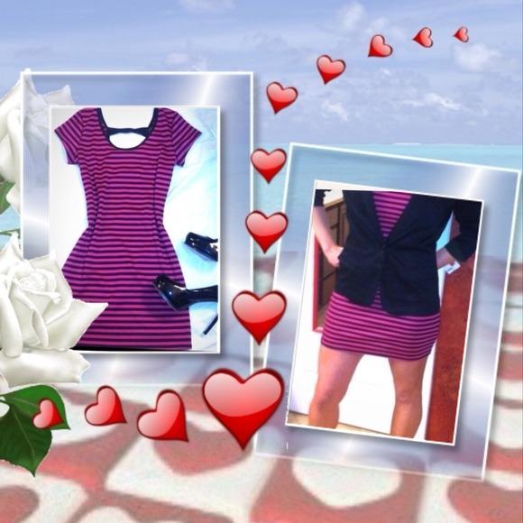 Luna tiks Dresses & Skirts - Pink & black Dress
