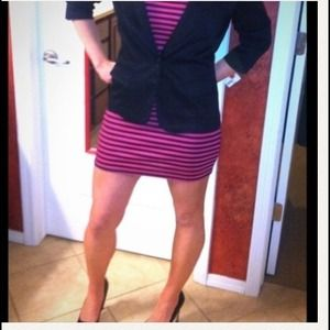 Luna tiks Dresses - Pink & black Dress