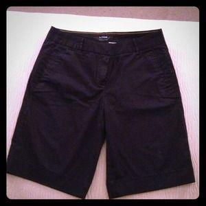 **REDUCED** JCrew navy summer weight chino shorts