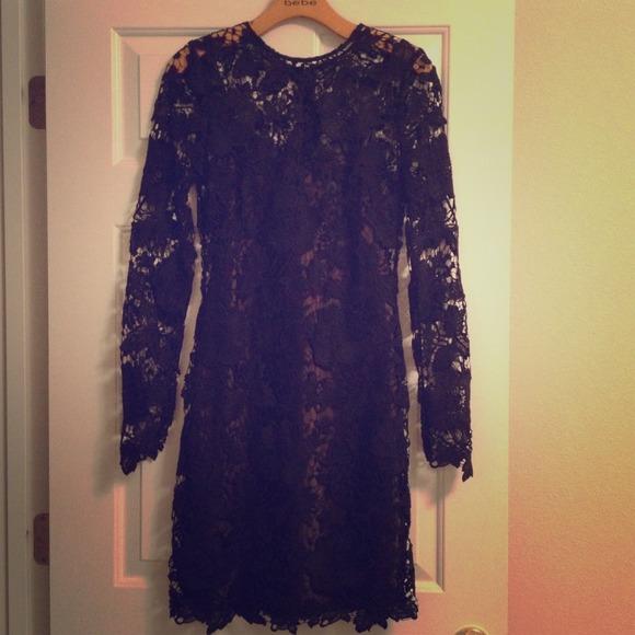 bebe Dresses & Skirts - 🎉HP & PM EDITOR PICK🎉 Bebe lace dress
