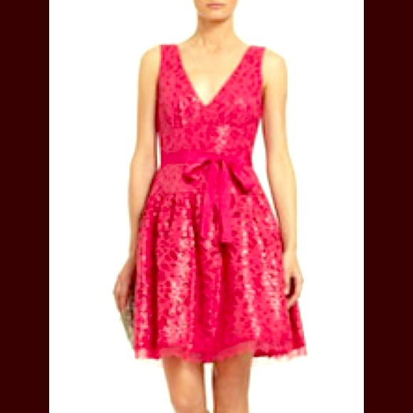 64 Off Bcbg Dresses Amp Skirts Reduced Bcbg Hot Pink