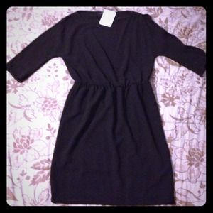 NWT Zara women black dress.