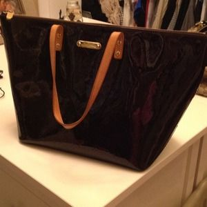 Louis Vuitton Patent Leather Bag