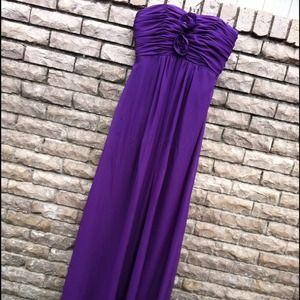 Dresses & Skirts - Deep purple sleeveless formal dress