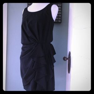 REDUCED! Cynthia Steffe gathered ruffle tank dress