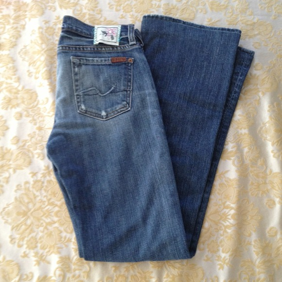 7 for all Mankind - Distressed Seven jeans kids from Alexis's ...