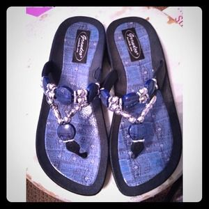 Bran new never been worn sandals
