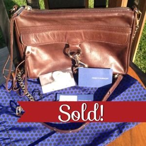 ❌SOLD❌Rebecca Minkoff Dk. Brown MAC