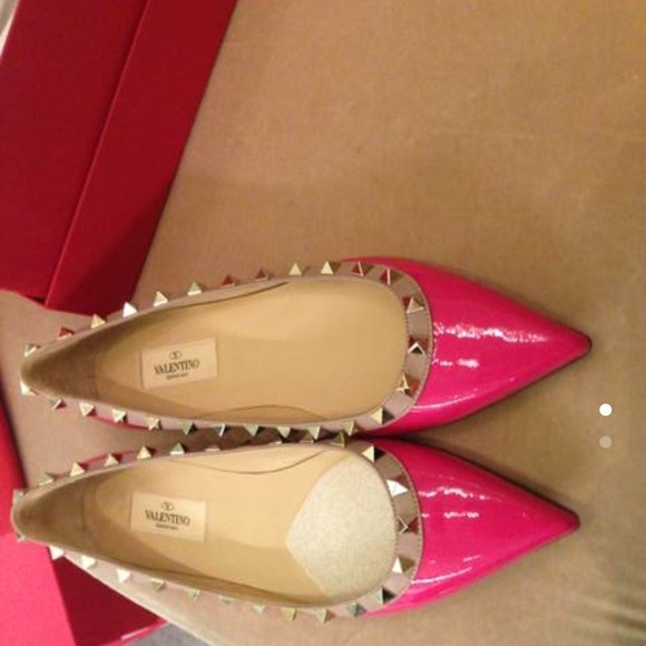 07ac841d45ee Valentino pink flat shoes . Brand new NWT