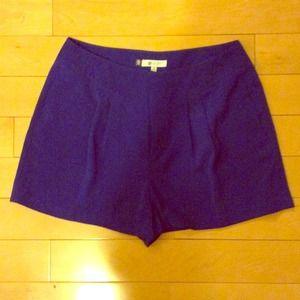 Cobalt Blue JLO Shorts New!