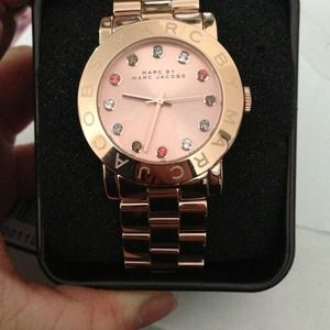 ! Rose gold Marc Jacob watch