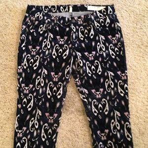rag & bone corduroy ikat jeans sz 29
