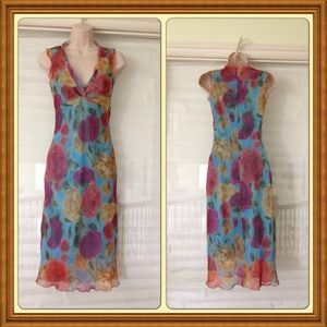 Reduced!Floral Spring dress, new w/o tag