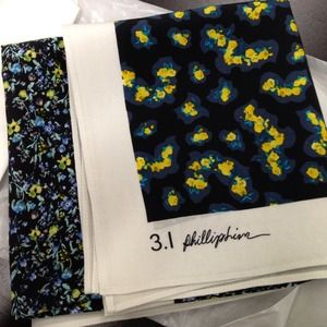 HOST PICK! SS13 3.1 Phillip Lim silk square scarf