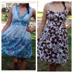 🚫Reserved🚫Floral dress bundle