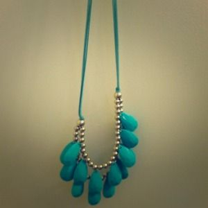 Light blue necklace!
