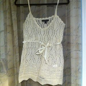 Express Tops - Express crocheted tank