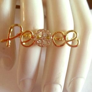 Jewelry - Peace ring