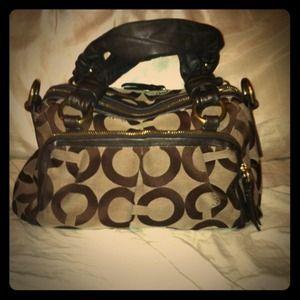 REDUCED!! Authentic Coach handbag!