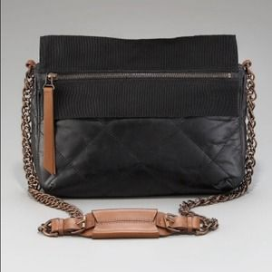LANVIN Bag Cabas Zippe In Soft Calf Skin Xbody NWT