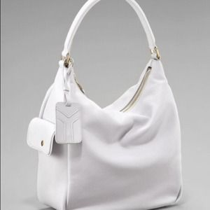 🎉HOST PICK 7/12🎉YSL Sac Multy Bone NWT Exc. Cond