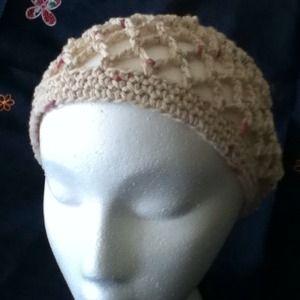 Cotton mesh hat