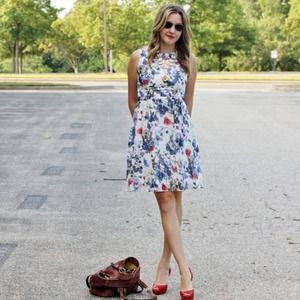 Wallis printed dress
