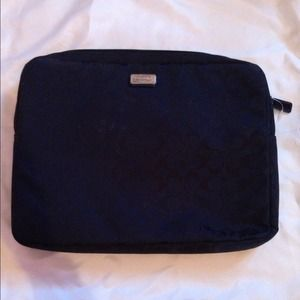 ☀REDUCED☀ Coach Signature Nylon Laptop Case