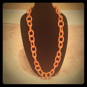 Jewelry - Neon chain link necklace
