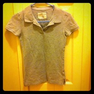 Aeropostale  Tops - Aeropostale Grey Stretch colored shirt