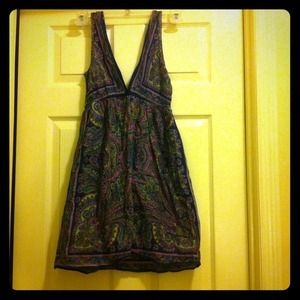 Angie Dresses & Skirts - Purple print Summer Dress