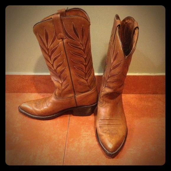 b062b2fff Shoes | Ortho Osullivan Ease Leather Cowboy Boots | Poshmark